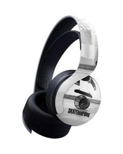 TransWorld SKATEboarding Black and White PULSE 3D Wireless Headset for PS5 Skin