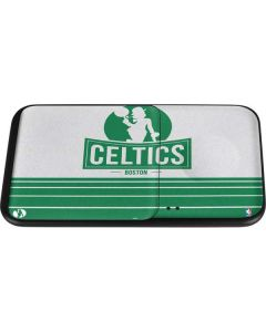 Boston Celtics Static Wireless Charger Duo Skin