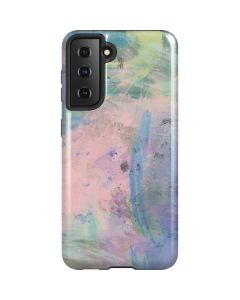 Rose Quartz & Serenity Abstract Galaxy S21 5G Case