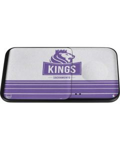 Sacramento Kings Purple Static Wireless Charger Duo Skin