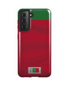 Portugal Soccer Flag Galaxy S21 5G Case