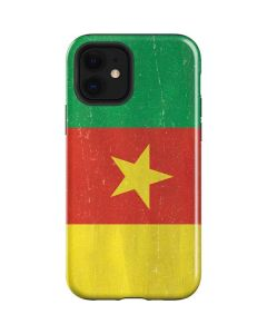 Cameroon Flag Distressed iPhone 12 Case