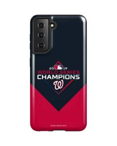Washington Nationals 2019 World Series Champions Galaxy S21 5G Case