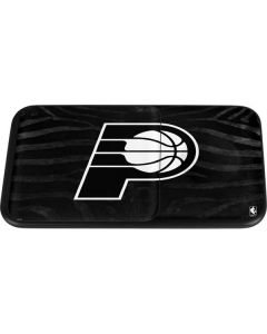 Indiana Pacers Black Animal Print Wireless Charger Duo Skin