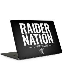 Las Vegas Raiders Team Motto Apple MacBook Pro 15-inch Skin