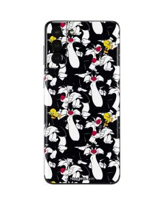 Sylvester and Tweety Super Sized Galaxy S21 Plus 5G Skin