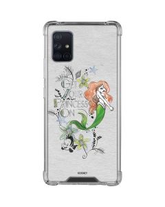 Ariel and Flounder Galaxy A51 5G Clear Case