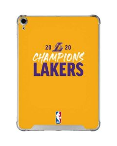 2020 Champions Lakers iPad Air 10.9in (2020) Clear Case