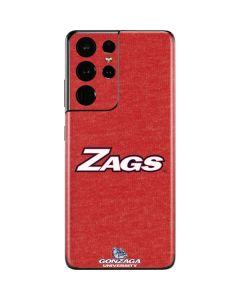Gonzaga Zags Galaxy S21 Ultra 5G Skin