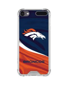 Denver Broncos iPod Touch (5th-6th-7th Gen) Clear Case