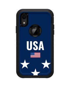 USA Flag Stars Otterbox Defender iPhone Skin