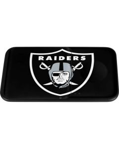 Las Vegas Raiders Large Logo Wireless Charger Duo Skin