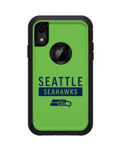Seattle Seahawks Green Performance Series Otterbox Defender iPhone Skin