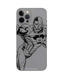 Cyborg Comic Pop iPhone 12 Pro Max Skin