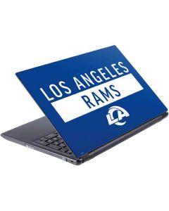 Los Angeles Rams Blue Performance Series V5 Skin
