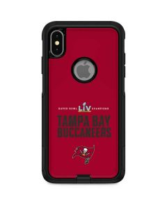 Super Bowl LV Champions Tampa Bay Buccaneers Otterbox Commuter iPhone Skin