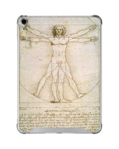 da Vinci - The Proportions of Man iPad Air 10.9in (2020) Clear Case