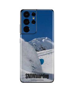 TransWorld SNOWboarding Shred Galaxy S21 Ultra 5G Skin