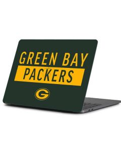 Green Bay Packers Green Performance Series Apple MacBook Pro 13-inch Skin
