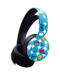 Mr Men Little Miss Geometric PULSE 3D Wireless Headset for PS5 Skin