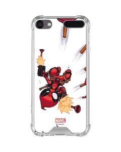 Deadpool Baby Fire iPod Touch (5th-6th-7th Gen) Clear Case
