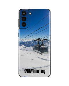 TransWorld SNOWboarding Lift Galaxy S21 Plus 5G Skin