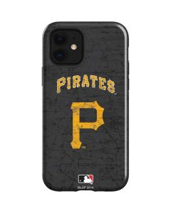 Pittsburgh Pirates - Solid Distressed iPhone 12 Case