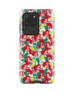 Ariel and Flounder Pattern Galaxy S21 Ultra 5G Case