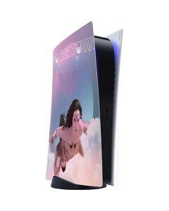 Wonder Woman Flying PS5 Digital Edition Console Skin