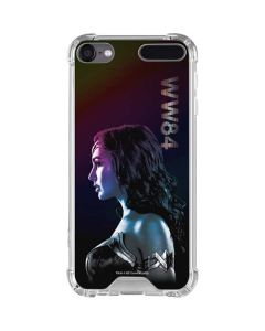 Wonder Woman Side Profile iPod Touch (5th-6th-7th Gen) Clear Case