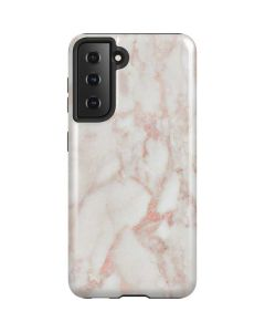 Rose Gold Marble Galaxy S21 5G Case