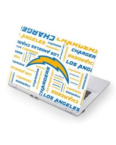 Los Angeles Chargers White Blast Acer Chromebook Skin