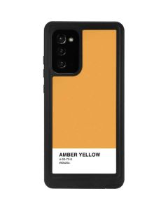 Amber Yellow Galaxy Note20 5G Waterproof Case