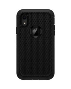 Black Hex Otterbox Defender iPhone Skin