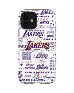 LA Lakers Historic Blast iPhone 12 Case