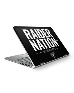 Las Vegas Raiders Team Motto HP Spectre Skin