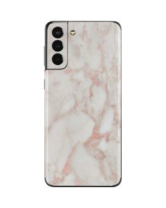 Rose Gold Marble Galaxy S21 Plus 5G Skin