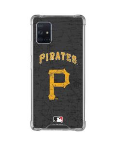 Pittsburgh Pirates - Solid Distressed Galaxy A51 5G Clear Case