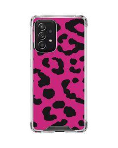 Rosy Leopard Galaxy A52 5G Clear Case