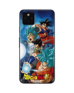 Goku Vegeta Super Ball Google Pixel 4a 5G Skin