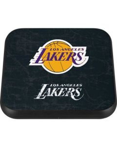 Los Angeles Lakers Black Primary Logo Wireless Charger Single Skin