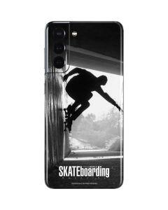 TransWorld SKATEboarding Wall Ride Galaxy S21 5G Skin
