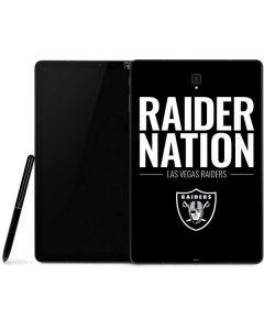 Las Vegas Raiders Team Motto Samsung Galaxy Tab Skin