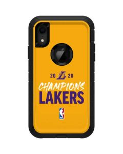 2020 Champions Lakers Otterbox Defender iPhone Skin