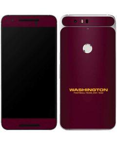 Washington Football Team Google Nexus 6P Skin