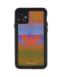Wonder Woman Rainbow Chevron iPhone 11 Waterproof Case