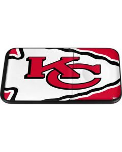 Kansas City Chiefs Large Logo Wireless Charger Duo Skin