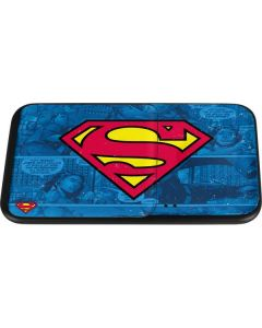 Superman Logo Wireless Charger Duo Skin