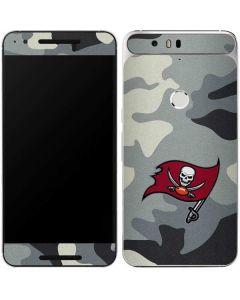 Tampa Bay Buccaneers Camo Google Nexus 6P Skin