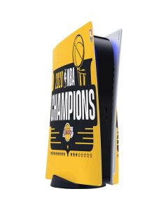2020 NBA Champions Lakers PS5 Console Skin